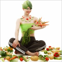 Healthier Lifestyle eat more vegetables